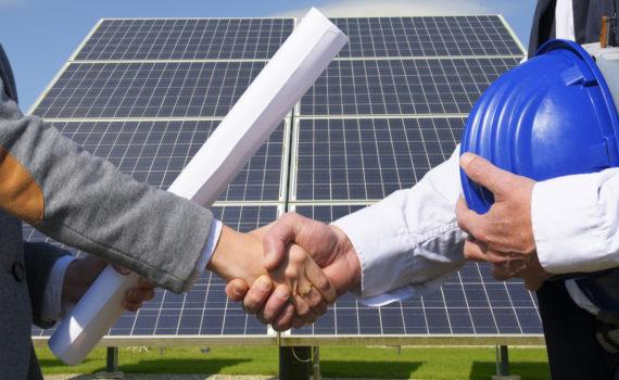 Serviço de geração solar
